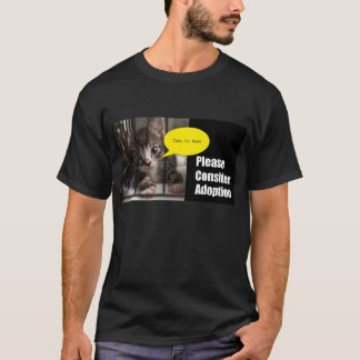 Please Adopt Me Man T-shirt