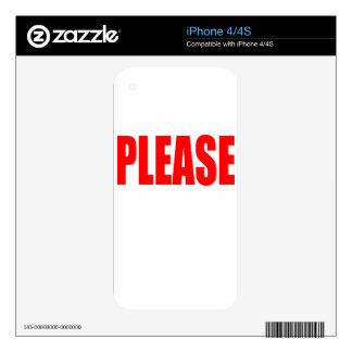 please asking permission cherry ontop husband wife iPhone 4 decal