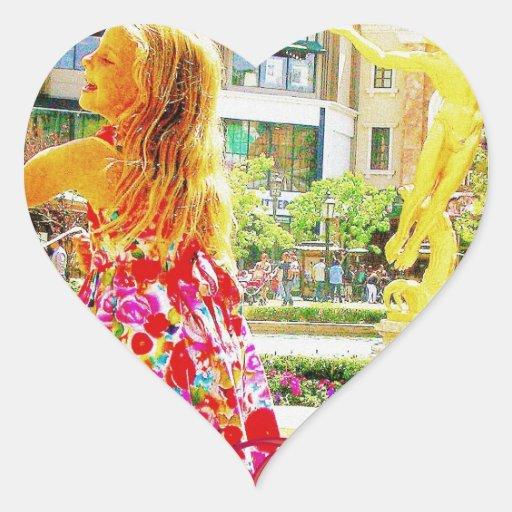 """""""Please be mine, Valentine"""" Heart Sticker"""