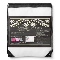 Please be my Bridesmaid? Drawstring Backpack