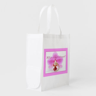 Please be my Bridesmaid? Grocery Bags