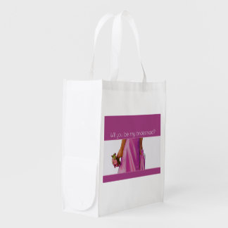 Please be my Bridesmaid? Reusable Grocery Bag