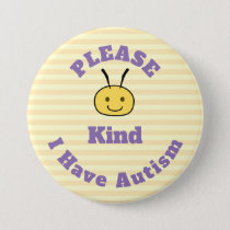 Please bee kind button