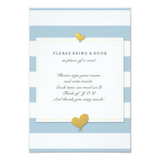 Please Bring A Book Baby Shower Insert Card