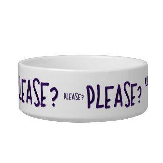 Please? Cat Bowls