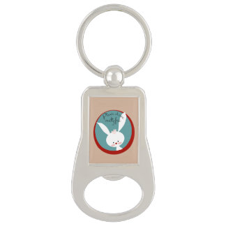 Please Choose Cruelty Free Keychain Bottle Opener