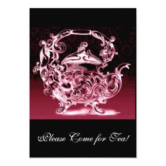 Please Come For Tea Wedding Bachelorette Party Card