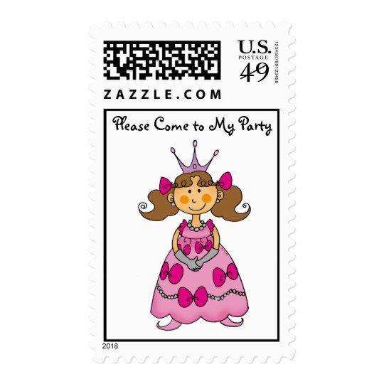 Please Come to My Party Postage