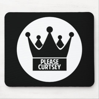Please Curtsey Mouse Pad