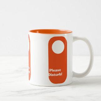 Please Disturb mug