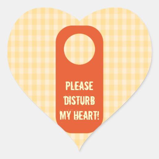 Please Disturb sticker