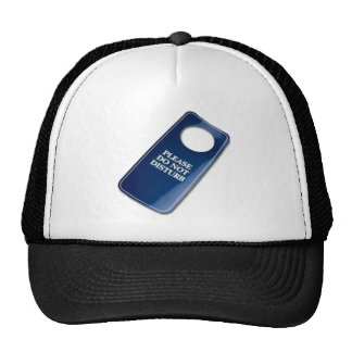 Please do not disturb hats