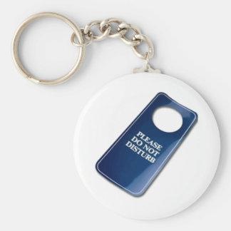 Please do not disturb keychain