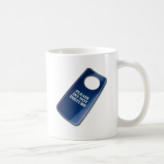 Please do not disturb coffee mug