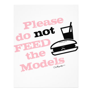 Please Do Not Feed the Models Letterhead