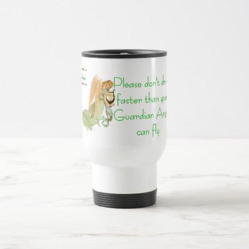 Please Don't Drive Faster - Customized Coffee Mug