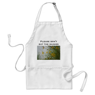 Please don't eat the daisies aprons