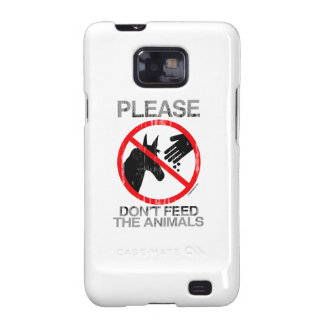 Please Don't Feed the Animals (Democrat) Faded.png Samsung Galaxy SII Cover