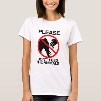 Please Don't Feed the Animals (Republican).png T-Shirt