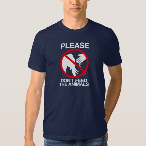 Please Don't Feed the Animals (Republican) - Tshirts