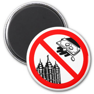 Please Don't Feed the Church Magnet