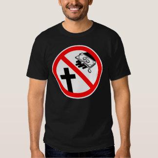 Please Don't Feed the Church T Shirt