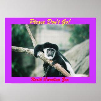 Please don't go! print