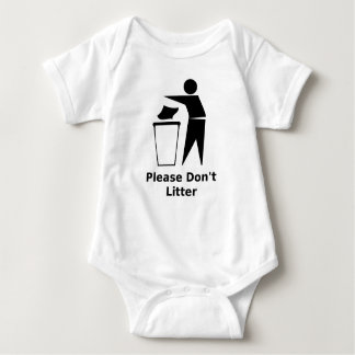 Please Don't Litter Shirt