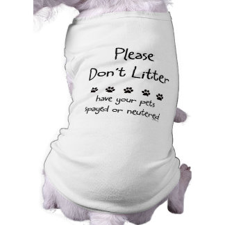 Please Dont Litter Tee