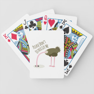 Please Don't Ostricize Me Bicycle Playing Cards
