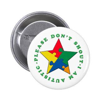 Please don't shout buttons