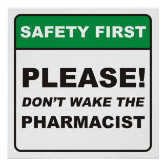 Please, don't wake the Pharmacist! Poster