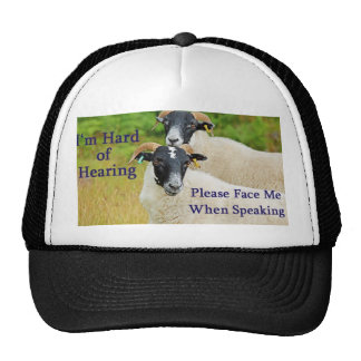 Please Face Me Hat with Sheep