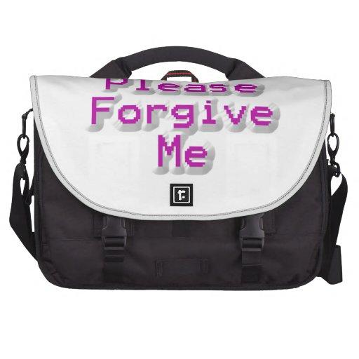 Please Forgive me Computer Bag