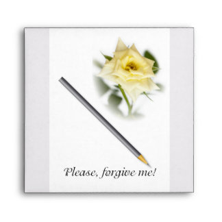 Please, forgive me envelope