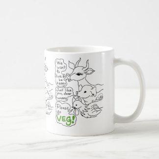 Please Go Veg  (Vegan) Coffee Mug