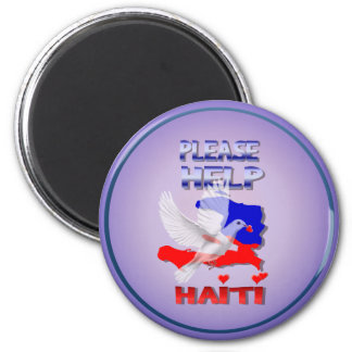 Please Help Haiti Magnet