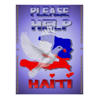 Please Help Haiti Print