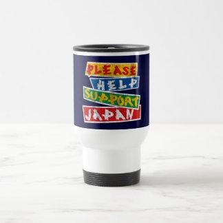 Please Help Support Japan Travel Mug