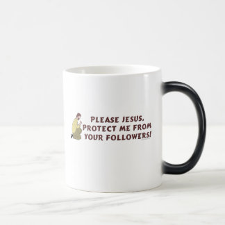 Please Jesus Christian Humor Magic Mug