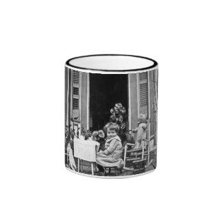 Please Join Us for Some Tea Ringer Coffee Mug