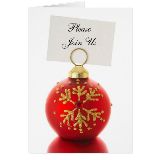 Please Join Us holiday invitation cards | Zazzle: www.zazzle.com/please_join_us_holiday_invitation_cards...