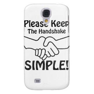Please Keep The Handshake Simple HTC Vivid / Raider 4G Case