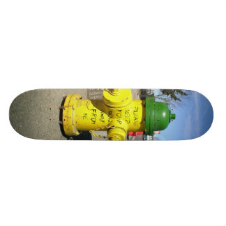 Please Keep Your Dog Away (nail scratched) Skateboard Deck