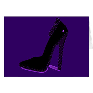 PLEASE LET ME BE YOUR FOOT SLAVE! GREETING CARD