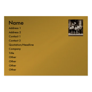 Please Mum!  (Stereoview 2) Business Card Template