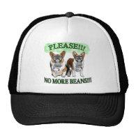 Please NO BEANS Hat