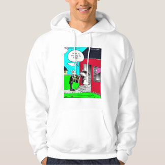 Please, No Witnessing The Badger Funny Hoodie by R