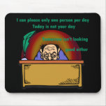 Please One Person Mouse Pad