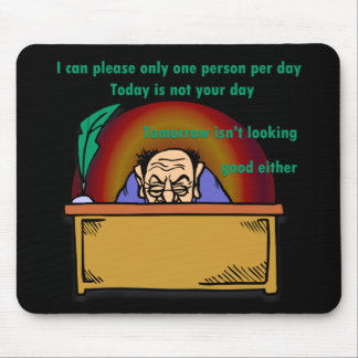 Please One Person Mousepads